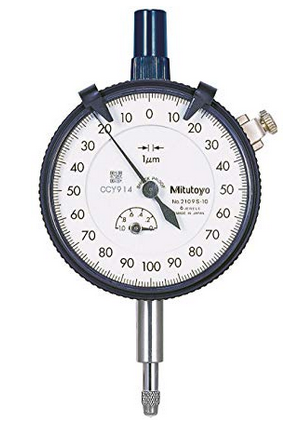 Mitutoyo Plunger dial gauge 0.001 mm on amazon