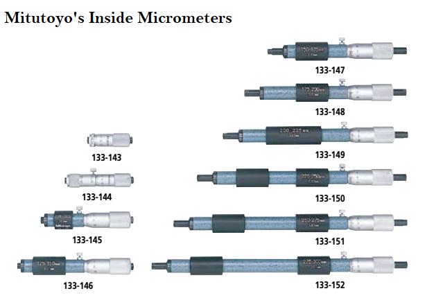 inside micrometer mitutoyo