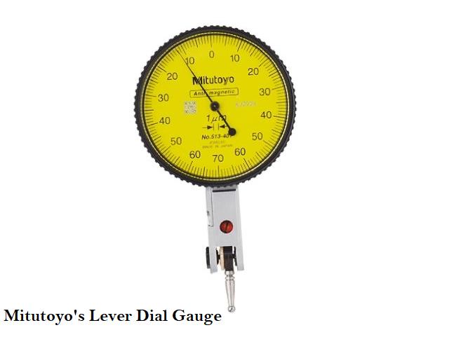 Mitutoyo lever dial gauge
