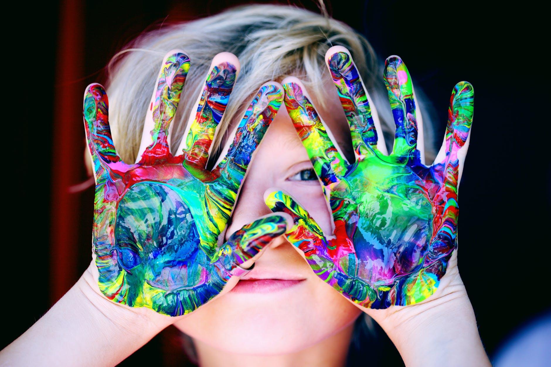 paints by polymerization